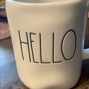 Brand New Rae Dunn Hello Coffee Mug